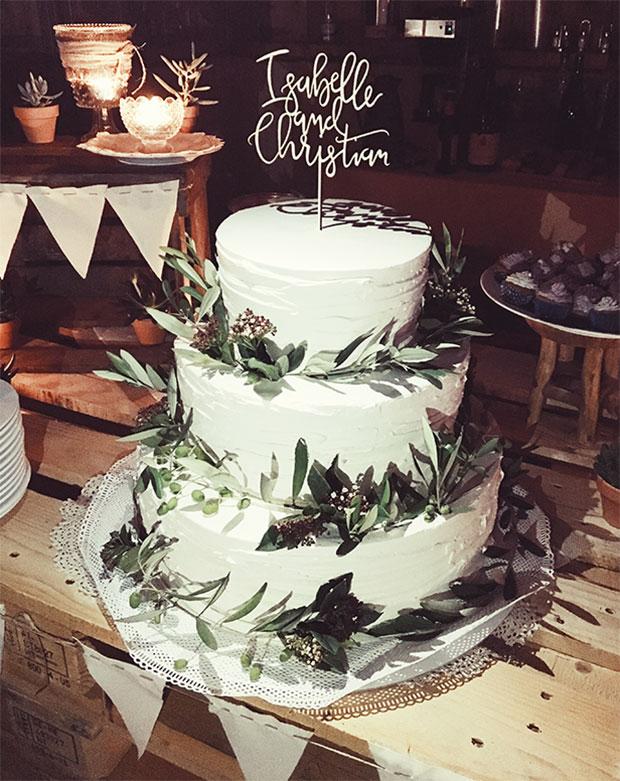 taartprikker caketopper huwelijk
