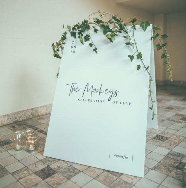 welkombord klapbord huwelijk