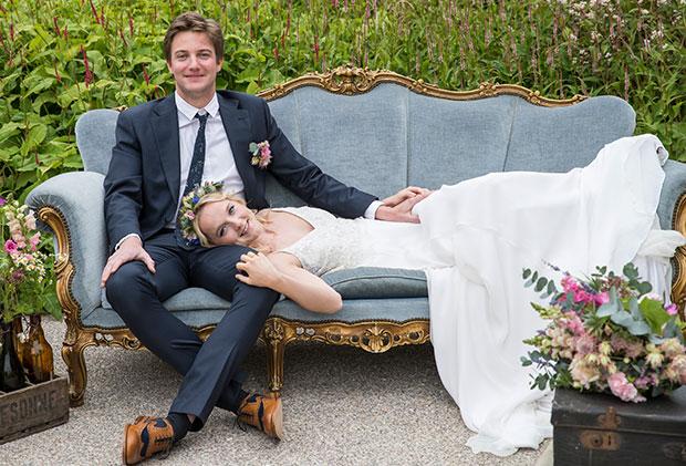 traditioneel huwelijk met een twist