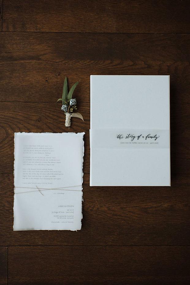 huwelijksuitnodigingen gent handgeschept
