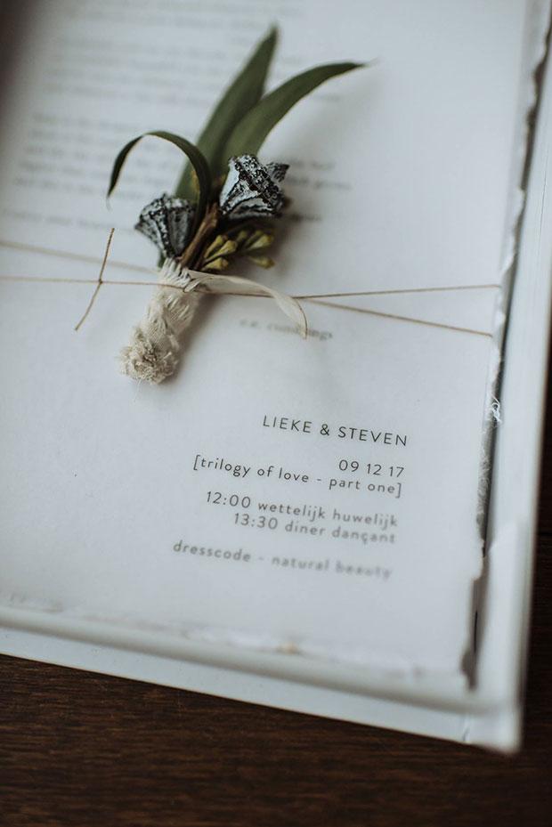 huwelijksuitnodiging Lokeren berlare