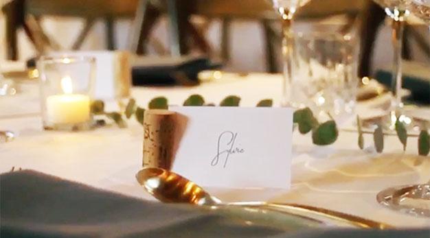 naamkaartjes huwelijk Gent