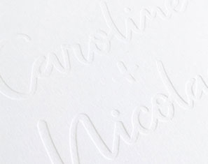 Blinddruk en Zilverfolie Huwelijkspakket
