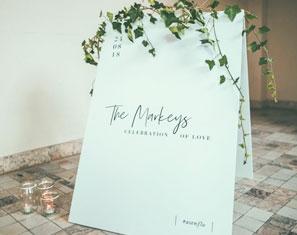 klapbord op maat welkombord huwelijk