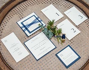 stijlvolle huwelijksuitnodigingen