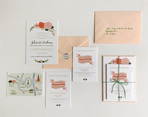 bloemen uitnodiging huwelijk gent