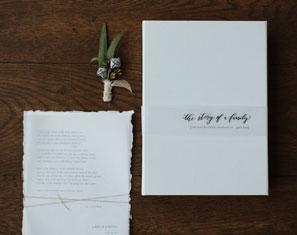 handgeschepte huwelijksuitnodigingen