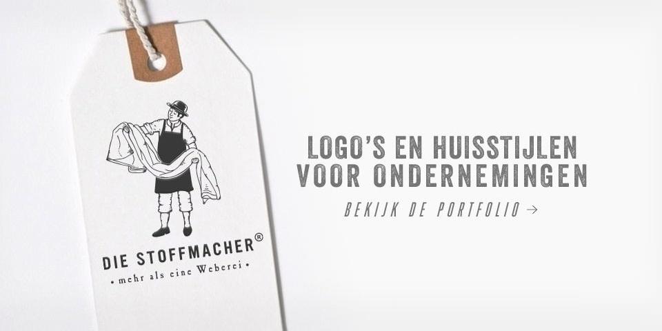Logo's en huisstijlen voor ondernemingen